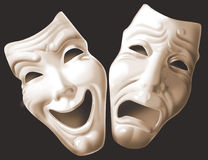 Theater_mask Stock Foto
