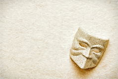 Theater mask Stock Image