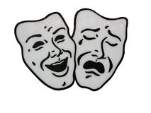 Theater masks Royalty Free Stock Photography