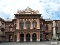 Theater Massimo Bellini Stockbild
