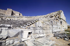 Theater in Milet, Turkay Stock Images