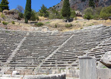 Theater Mycenaean Griekenland - Epidauros (#) royalty-vrije stock foto