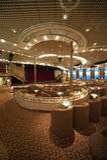 Theater op het Schip van de Cruise royalty-vrije stock foto