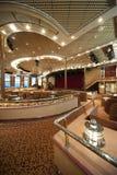 Theater op het Schip van de Cruise stock fotografie