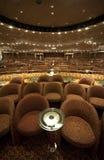 Theater op het Schip van de Cruise royalty-vrije stock afbeeldingen