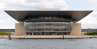 Theater, Opera House in Copenhagen, Denmark. Royalty Free Stock Images
