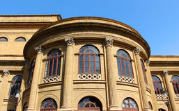Theater from palermo, massimo, neoclassical Stock Photo