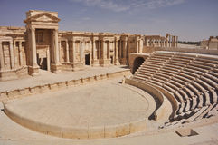 Theater at Palmyra Stock Image