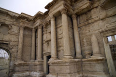 The theater at Palmyra, Syria Royalty Free Stock Photography