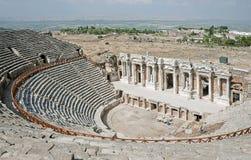 Theater in Pamukkale, Turkey Stock Photos