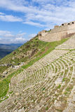 Theater of Pergamon in Turkey Stock Photography