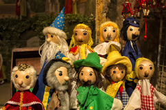 Theater puppets Royalty Free Stock Photo