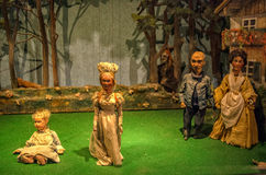Theater puppets Stock Image