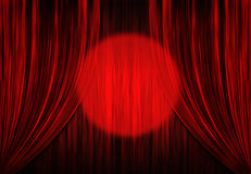 Theater red Stock Image