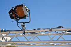 Theater reflector Royalty Free Stock Photography
