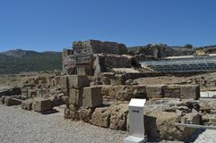 Theater In Roman City Baelo Claudia Dating In The 2nd Century BC Beach Of Bologna In Tarifa. Nature, Architecture, History, royalty free stock photo