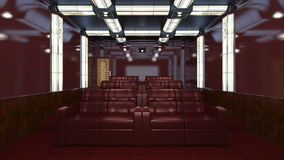 Theater room Royalty Free Stock Images