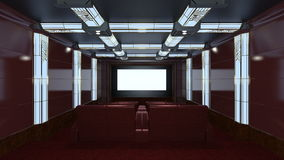 Theater room Stock Image