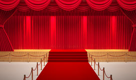 Theater room Royalty Free Stock Photos