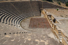 Theater in the ruins of the ancient city of Soli Royalty Free Stock Photography
