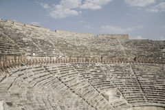 Theater ruins in the ancient city of Turkey Stock Photography