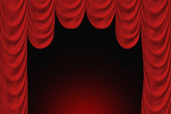 Theater scene Stock Image