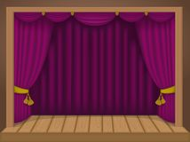 Theater scene Stock Images