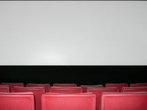 Theater Screen Royalty Free Stock Image