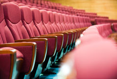 Theater seat Royalty Free Stock Image