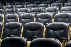 Theater seat front Stock Images