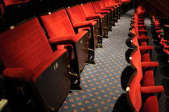 Theater seat in the hall Stock Photos