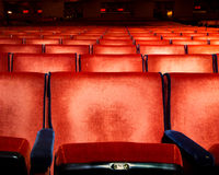 Theater Seating Royalty Free Stock Photos