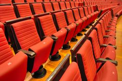 Theater Seating Stock Photography