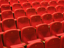 THEATER SEATINGS Stock Image