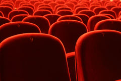 Theater seatings Stock Photo