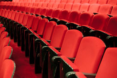 Theater seats Stock Photography