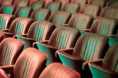 Theater seats Royalty Free Stock Photos