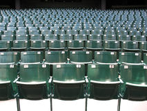 Theater seats Stock Image