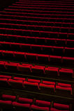 Theater seats Royalty Free Stock Photography
