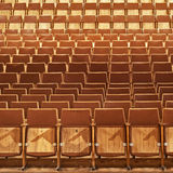 Theater Seats Royalty Free Stock Images