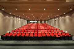 Free Theater Seats In Movie Hall Stock Photo - 75442040