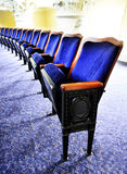 Theater Seats in a Row Stock Photos