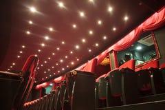 Theater seats royalty free stock photo