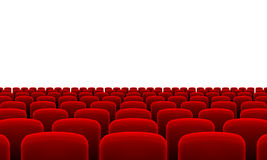 Theater Seats Royalty Free Stock Image