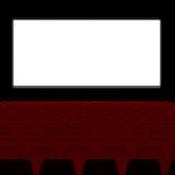 Blank Theater screen Stock Photos