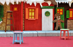 Theater set for children Royalty Free Stock Photography