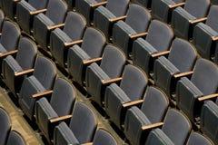 Theater-Sitze Lizenzfreie Stockfotografie