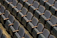 Theater-Sitze Stockbild