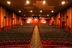 Theater-Sitze Lizenzfreie Stockfotos