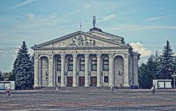 theater on the square royalty free stock photos